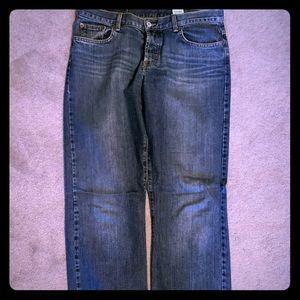 Dark wash lucky brand jeans size 14